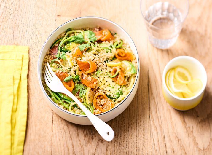salade truite quinoa