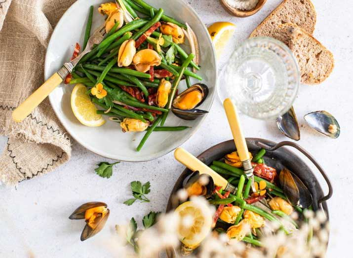 moules-haricots